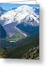 Mount Rainier Xi Greeting Card