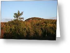 Mount Rockwood Greeting Card