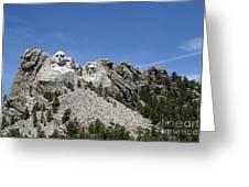 Mount Rushmore Full View Greeting Card