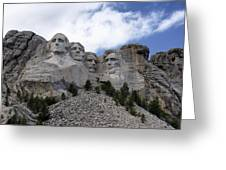 Mount Rushmore National Monument -2 Greeting Card