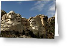 Mount Rushmore National Monument -5 Greeting Card