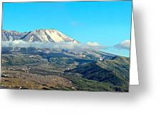 Mount St Helens And Castle Lake Greeting Card