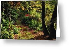 Mount Stewart, Co Down, Ireland Greeting Card