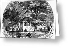 Mount Vernon, 1883 Greeting Card