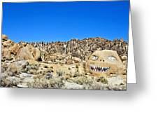 Mount Whitney Gardian Greeting Card