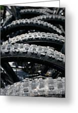 Mountain Bike Tires Greeting Card