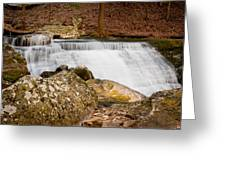 Mountain Cascade Greeting Card