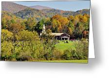 Mountain Church Greeting Card