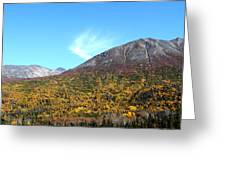 Mountain Colors Greeting Card