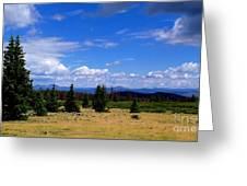 Mountain Top Landscape II Greeting Card
