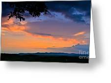 Mountain Twilight Greeting Card
