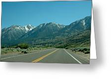 Mountains Ahead Greeting Card