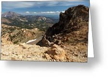 Mountains At Lassen Greeting Card