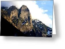 Mountains Of Yosemite . 7d6167 Greeting Card
