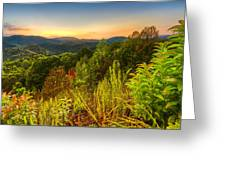 Mountainside Greeting Card