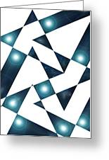 Moveonart Abstractchristmas Greeting Card