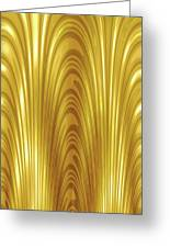 Moveonart Goldlight Greeting Card
