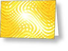 Moveonart Higherlightandwaves Greeting Card