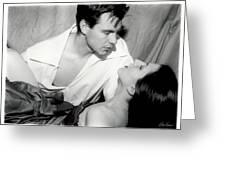 Movie Kiss Greeting Card