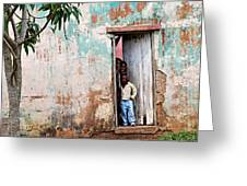 Mozambique - Land Of Hope Greeting Card