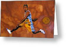 Mr Assist Steve Nash Greeting Card