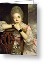 Mrs Abington As Miss Prue In Congreve's 'love For Love'  Greeting Card