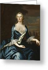 Mrs. Charles Carroll Of Annapolis Greeting Card