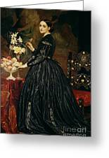 Mrs James Guthrie Greeting Card