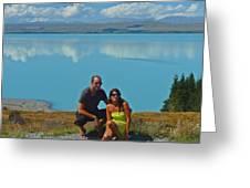 Mt. Cook Lake Greeting Card