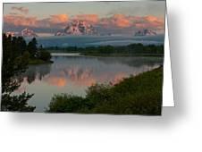 Mt. Moran Greeting Card
