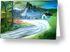 Mt. Of Hope Greeting Card