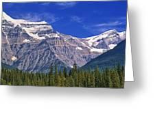Mt. Robson, British Columbia Greeting Card