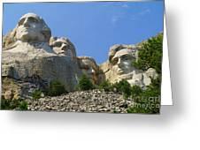 Mt Rushmore Greeting Card