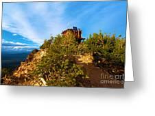 Mt Scott Fire Tower Greeting Card