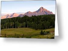 Mt. Sneffles Greeting Card
