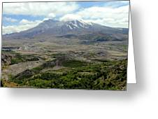 Mt St Helens 3 Greeting Card
