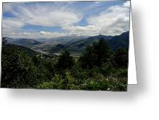 Mt St Helens Lookout Greeting Card