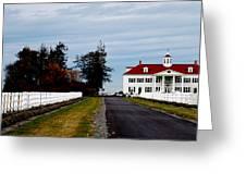 Mt. Vernon'esque In Wa Greeting Card