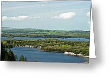 Muckross Lake From Atop Torc Waterfall 2 Greeting Card