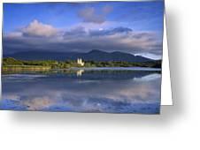 Muckross Lake, Ross Castle, Killarney Greeting Card