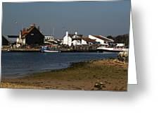 Mudeford Quay Greeting Card