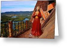 Mujer De La Piedra Greeting Card