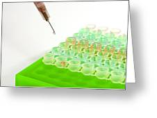 Multiwell Sample Tray Greeting Card