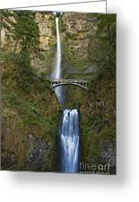Multnomah Falls 1 Greeting Card