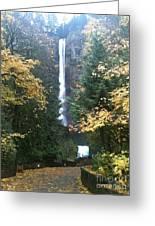 Multnomah Falls II Greeting Card