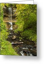 Munising Falls 1 Greeting Card