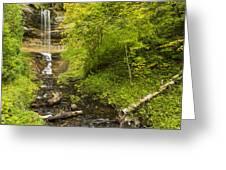 Munising Falls 3 Greeting Card