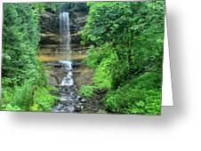 Munising Falls Greeting Card