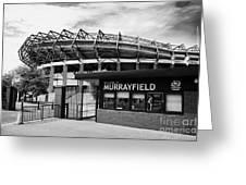 Murrayfield Stadium Edinburgh Scotland Uk United Kingdom Greeting Card by Joe Fox