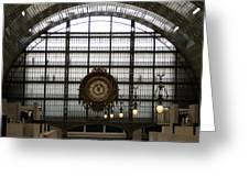 Musee D'orsay's Clock Greeting Card